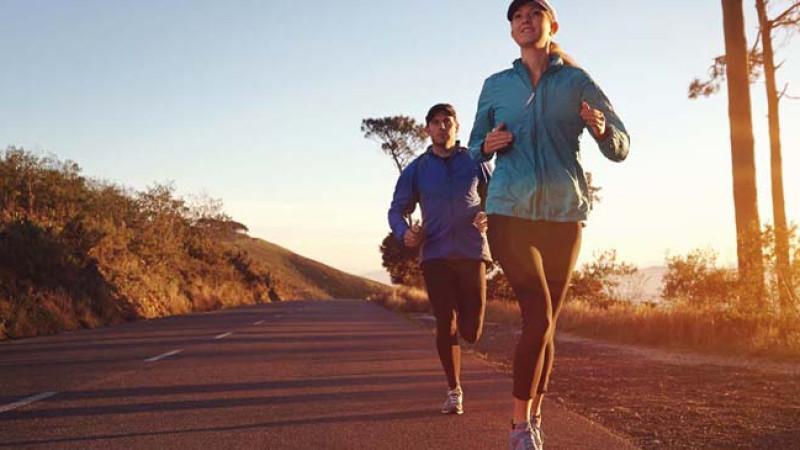 Women running outdoors runner'