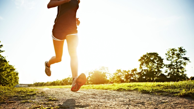 Fall in love with running.
