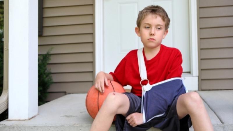 Kids do hurt themselves playin