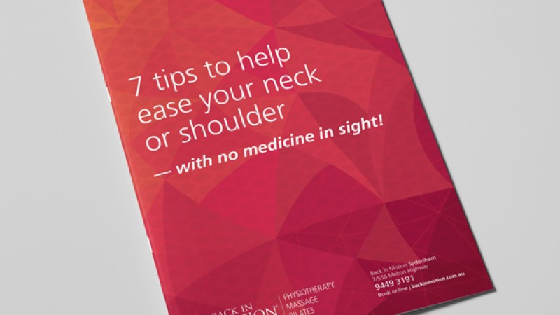 Free Neck/Shoulder Pain Report