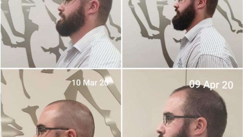 Brandan's progress shots