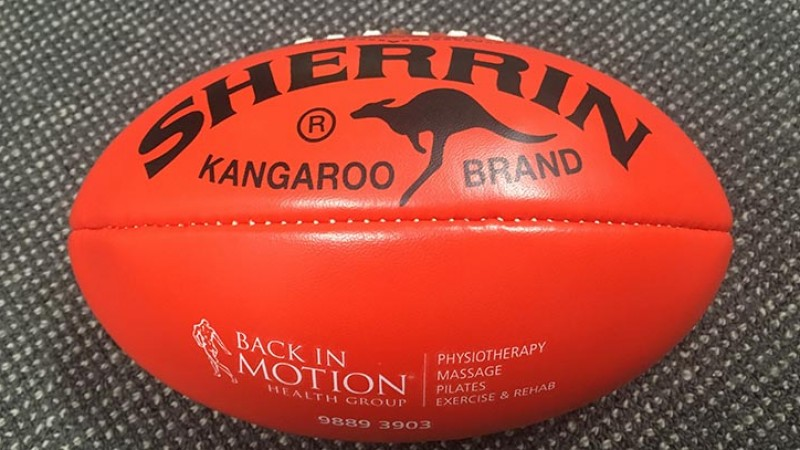AFL football Back In Motion