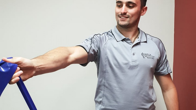 One of our physios, Anthony sh