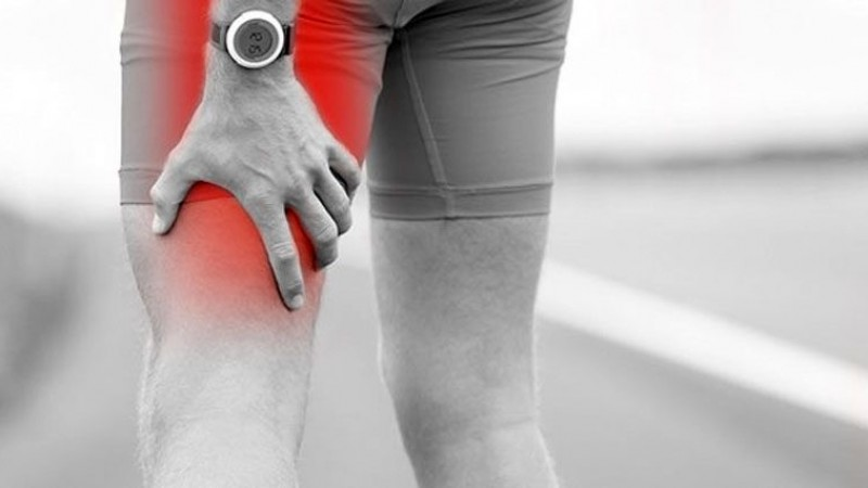 Sciatic pain is felt in the ba