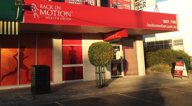 Physio Back In Motion Wantirna South Refurbishment