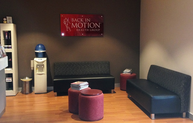Back In Motion Wantirna Reception Space
