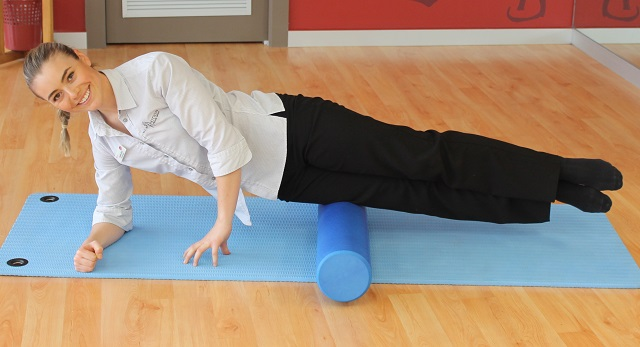 Foam rolling for tradies with knee pain