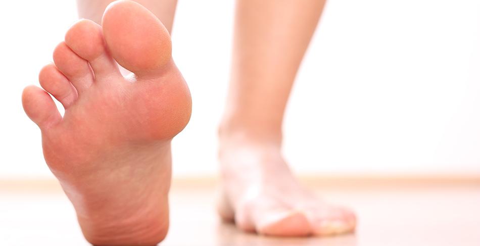 Image of feet plantar fasciitis