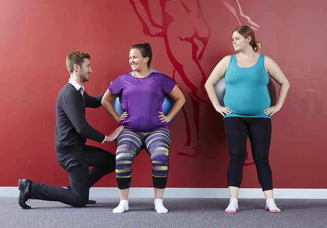 Mums In Motion Classes help prepare your body for birth