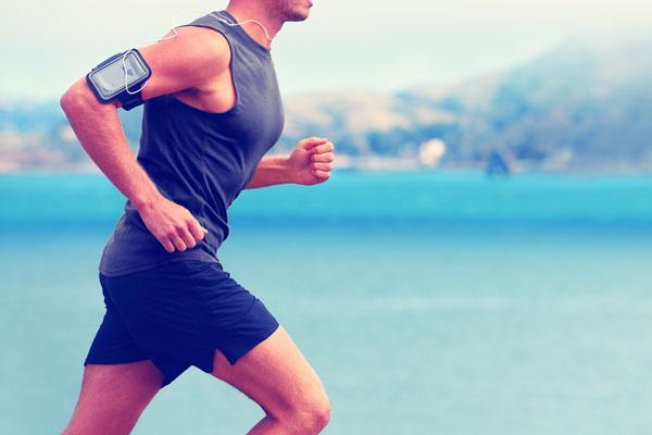 Image of man running