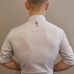 Image of a man's back