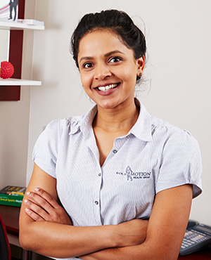 Melissa Manuelpillai, Physiotherapist, Back In Motion Hawthorn
