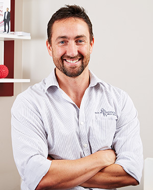 Nathan Rickard, Physiotherapist and Director, Back In Motion Hawthorn