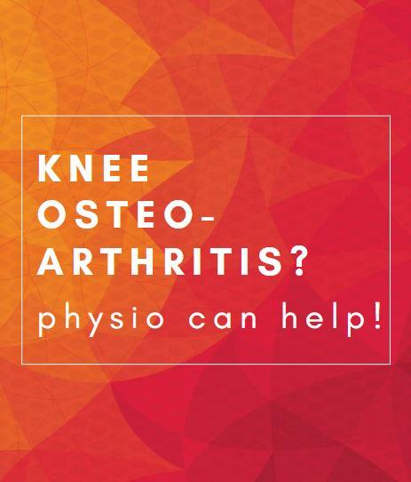 physio can help OA