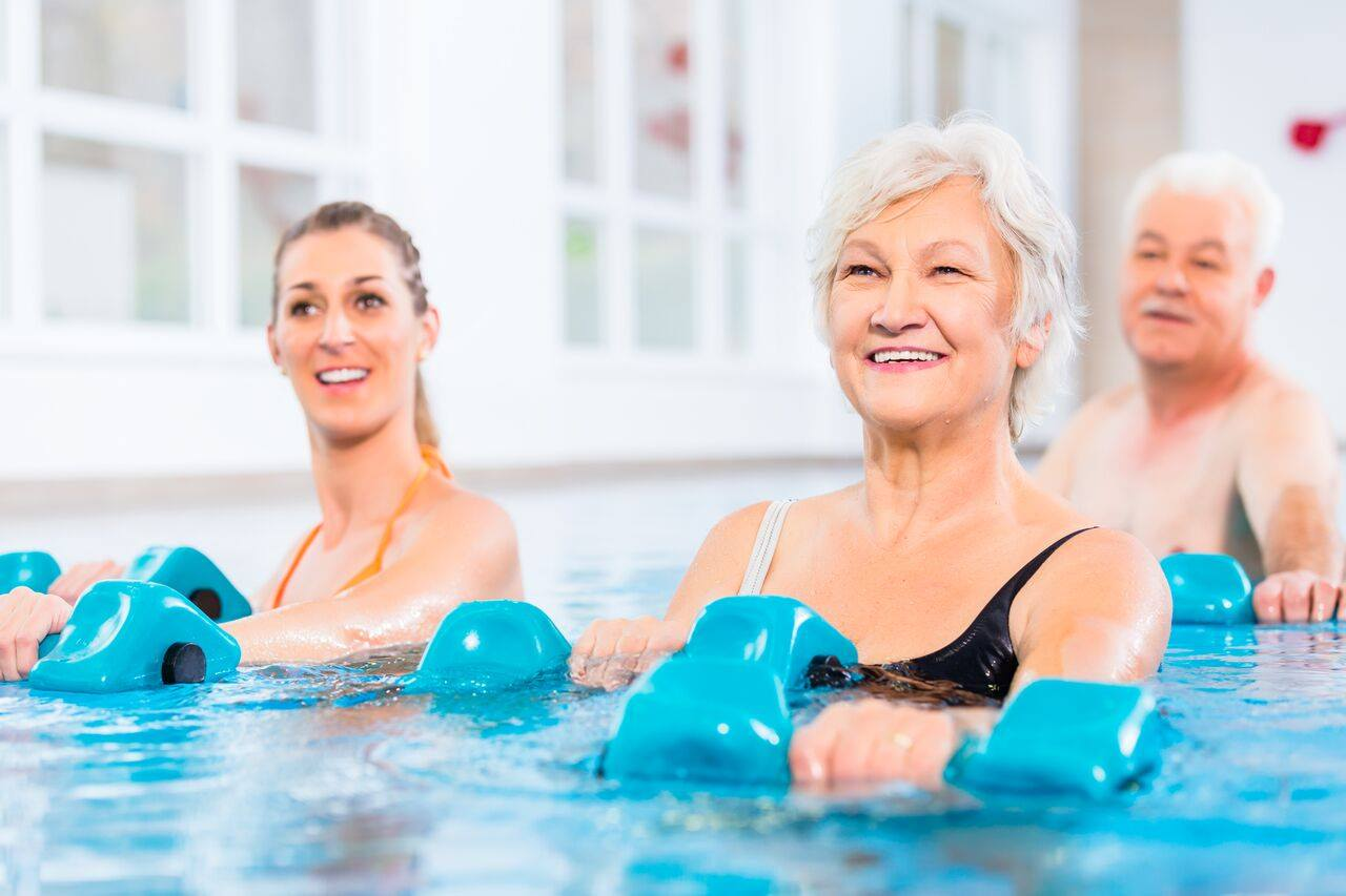 Hydrotherapy Group Class