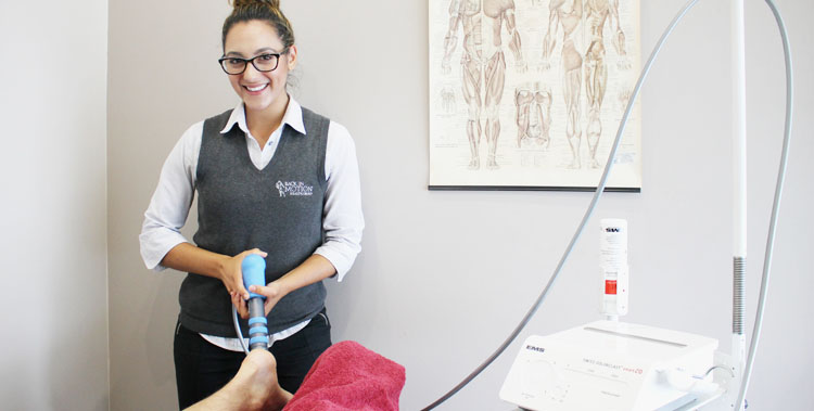 Physio and client