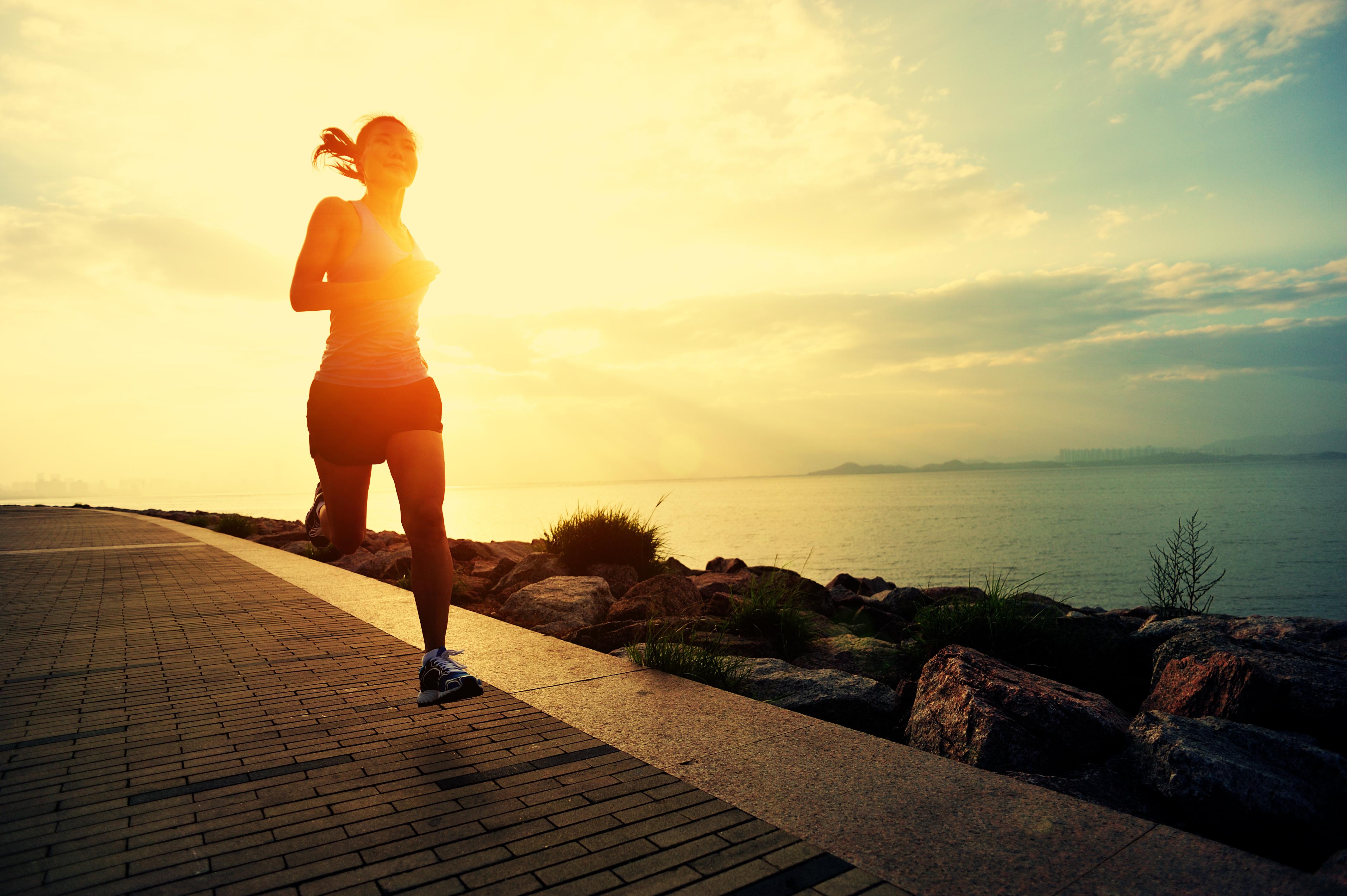 summer morning run