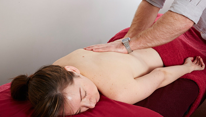 Massage Therapy at Back In Motion